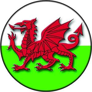 Spare Wheel Cover Sticker Welsh Dragon Wales Flag 4x4 Land