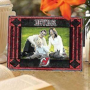 New Jersey Devils Art Glass Horizontal Picture Frame (New) Calgary Alberta Preview