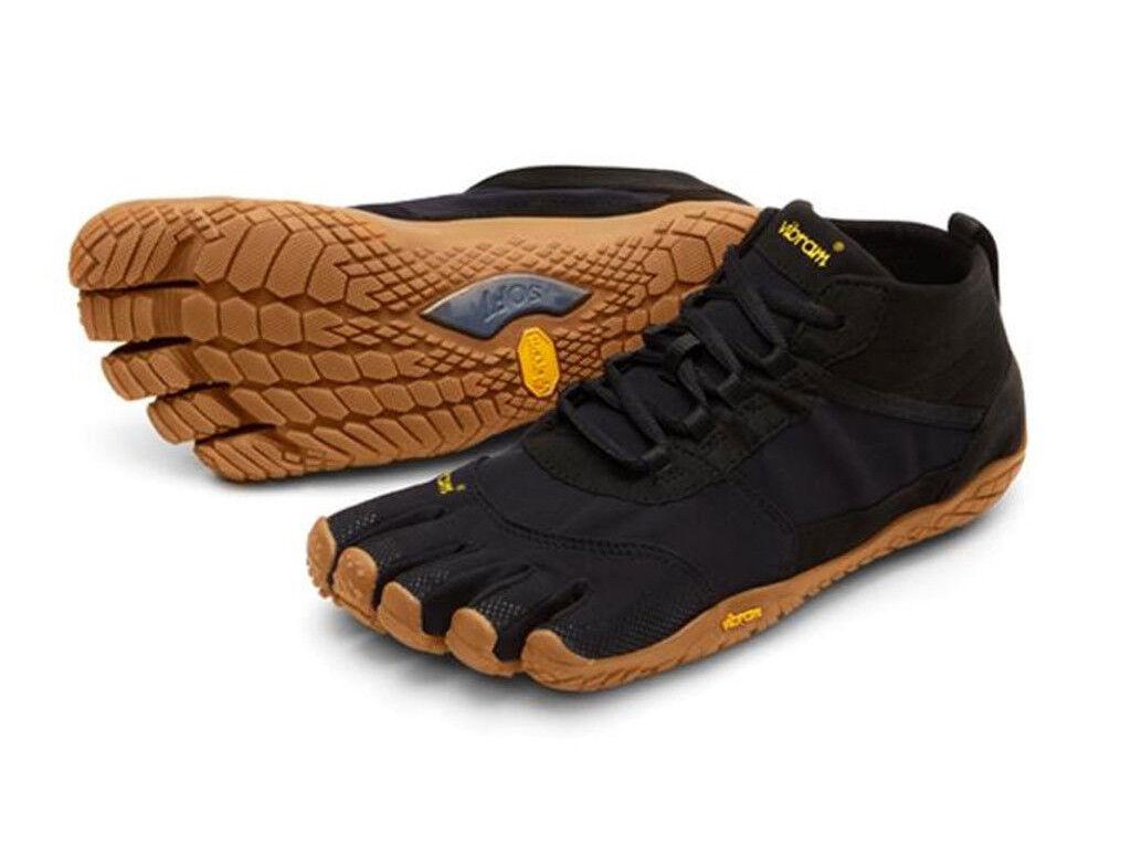 Vibram fivefingers V - Trek, mujer corriendo descalza, viajando por la Ciudad, explorando zapatos, RP.