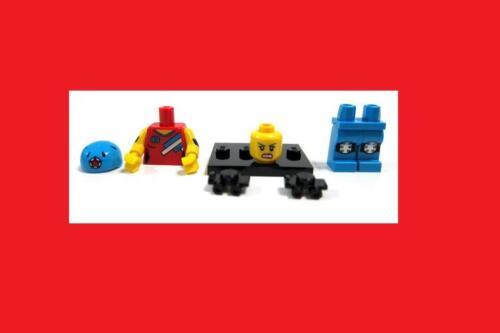 Series 9 SEALED Lego Roller Derby Roller Skate Sport Helmet Minifigure Minifig