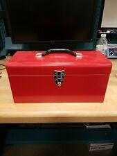 Red Metal General Purpose Tool Box