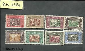 BIS_LIKE:set Lithuania NH /MH /MLH / yellow stains LOT AP 03-453