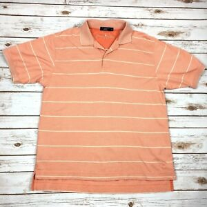 1f092acd7 Image is loading Johnnie-Walker-Polo-Shirt-Peach-Coral-100-Mercerized-