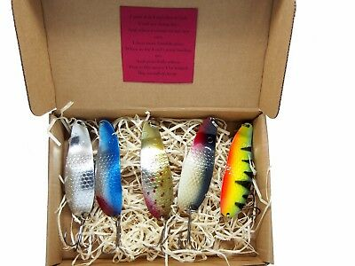 bass tackle Details about  /Metal fishing spoon lure pike perch bait handmade in Europe