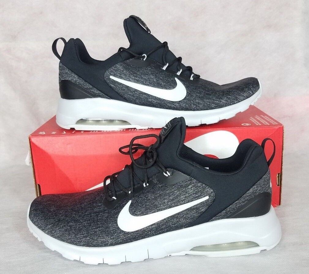 New Nike Air Max Motion Racer Men Size 11.5 Black Black Black Pure Platinum shoes 916771-004 7a3704