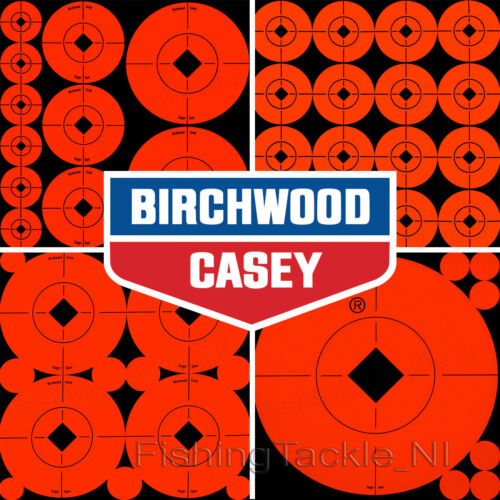 Birchwood Casey Self Adhésif Cible Spots 10 feuilles toutes tailles Shooting Targets