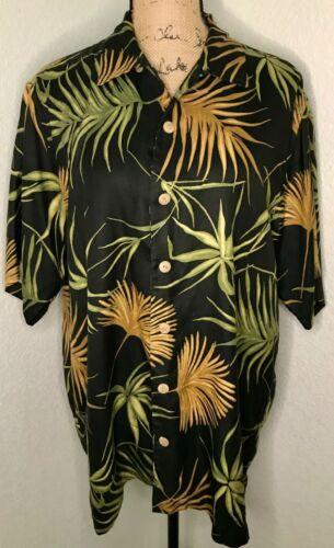 Jim Thompson Men's Medium Hawaiian Shirt Thai Silk