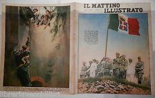 1936 Mussolini Volturara Irpina Portici Ammiraglio Caracciolo Costumi Sardegna