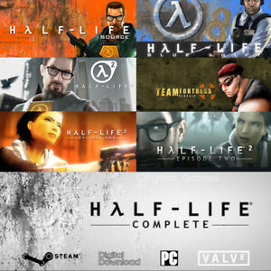 Details about Half Life Complete Pack Steam key PC Region Free Half Life 2,  Episode One & Two
