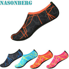 Men Water Shoes Barefoot Aqua Socks Quick-Dry Beach Swim Sports Exercise Slip On