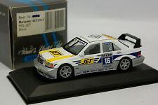 Minichamps 1/43 - Mercedes 190 E Evo 2 DTM MS Jet Biela