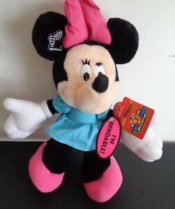 468e855660fe7 MINNIE MOUSE Plush DISNEY Stuffed Animal 12