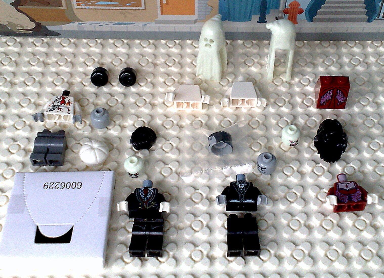 Lego® Alle 6 Originale Figures aus Haunted House 10228 Neu