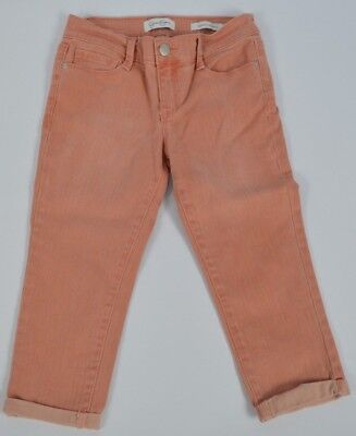 Freeship Size 7 NEW Jessica Simpson Little Girl/'s Rolled Crop Skinny Jeans