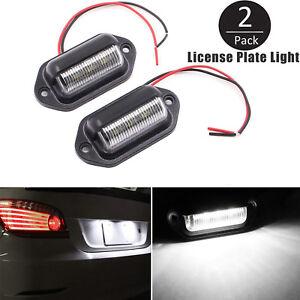 Universal-6-LED-lamparas-de-luz-placa-Numero-de-licencia-para-camion-SUV-Remolque-Camion-2pc