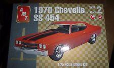 AMT 1970 Chevrolet CHEVELLE SS 454 1/25 Model Car Mountain KIT OPEN