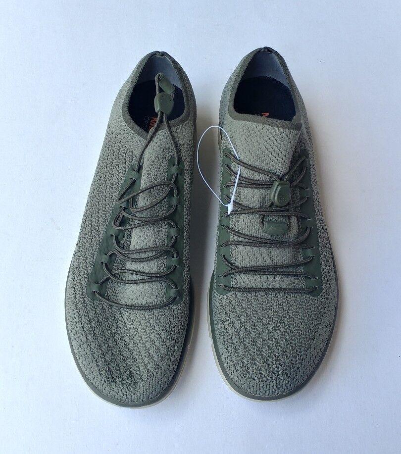 Women's Merrell ZOE SOJOUM LACE KNIT KNIT KNIT 02 DUSTY OLIVE GREEN SNEAKER shoes Size 7 03b997