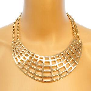 NEU-Statement-Kette-Halskette-blogger-Collier-Choker-gross-Vintage-auffaellig-gold