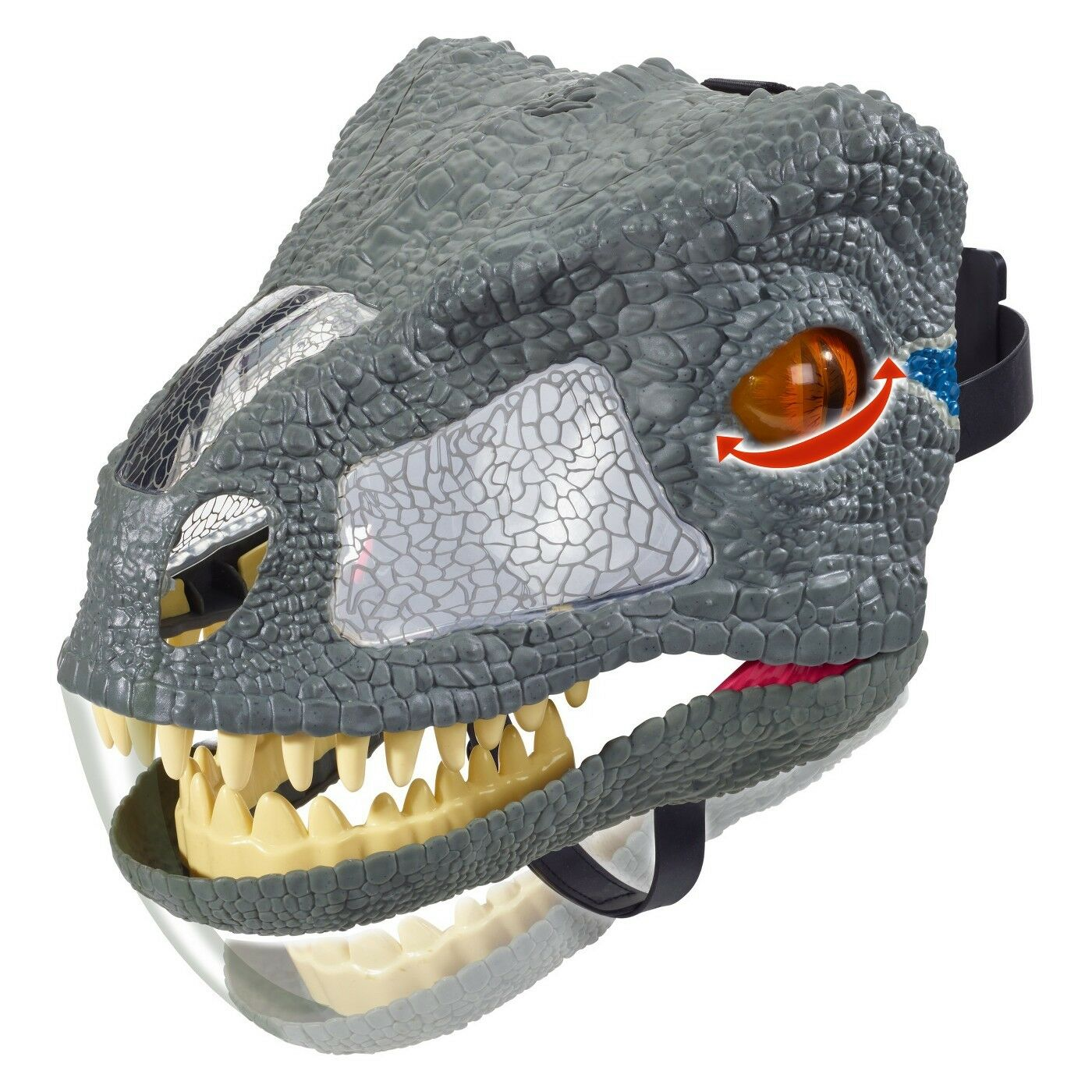 Jurassic World Chomp 'N Roar Velociraptor Blau Mask  Brand new factory sealed