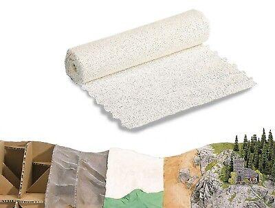 (20,98 €/m²) Busch 7194 Modellismo Gesso Tessuto, 200 X 20 Cm-mostra Il Titolo Originale Saldi Estivi Speciali