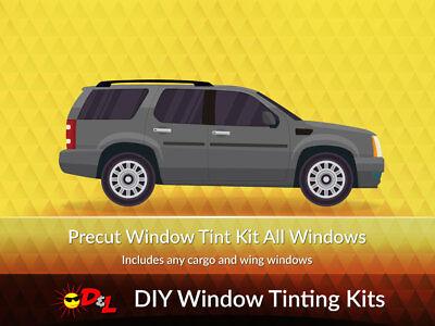 Fits 2007-2010 Ford Explorer Sport Trac Precut Window Tint Kit Film Front Kit