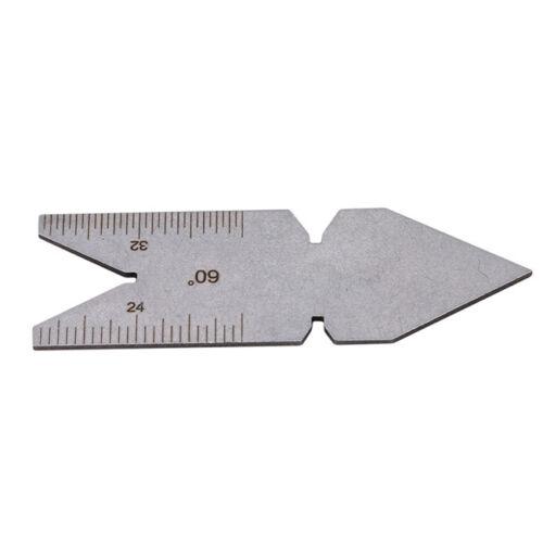 Pitch Cutting Center Gauge 60 Degree Inch Screw Thread Inspection Gauges CF