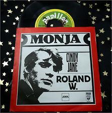 ROLAND W. - Monja * papillon 1978 NL * TOP SINGLE (M-:))