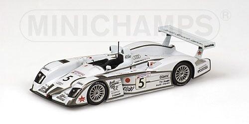 AUDI r8 Team Audi Japan Goh Ara Katoh Le Mans 2002 1 43 MODEL MINICHAMPS