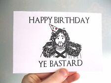 Juego de tronos tarjeta de cumpleaños divertido marido Jon Snow tiene bastardo novio