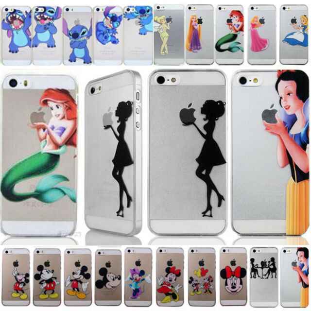 Various Cartoon Princess Series Hard Back Case Cover for Iphone5 5s 4s 5C 6