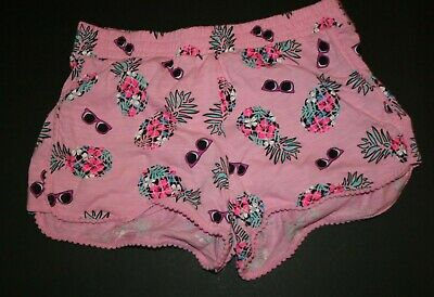 NWT Justice Girls Pineapple Top//Dolphin Pom Pom Shorts Size 6 7 8 10 12 14 16