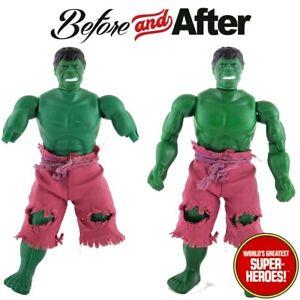 "Mego Hulk Body Upgrade For 8"" Action Figure WGSH Custom Parts Lot"
