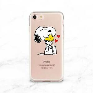 Snoopy-Dog-iPhone-XR-XS-Max-Rubber-Gel-Cover-Cute-iPhone-6s-7-8-Plus-X-Case-Snap