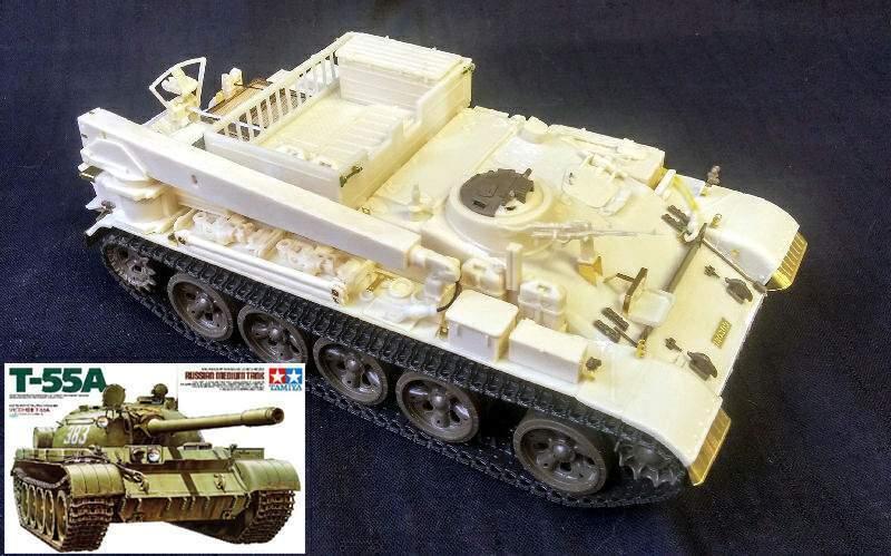 IDF VT-55 & Tamiya T-55A COMBI set 1 35 PanzerShop
