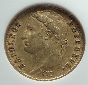 1813-FRANCE-Napoleon-Bonaparte-20-Francs-Antique-French-Gold-Coin-NGC-i79810