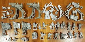 Multi-listing-of-Cadian-Command-Metal-models-Sentinel-Troops-Imperial-Guard-OOP