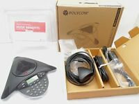 Polycom Soundstation Ip 4000 Voip Conference Phone W/ Supplied Accessories