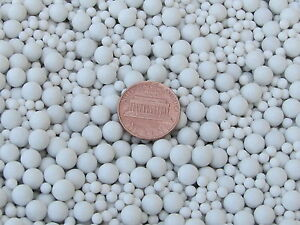 Ceramic-Tumbling-Media-Mixed-3-Lb-3-mm-amp-6-mm-Polishing-Sphere-Non-Abrasive