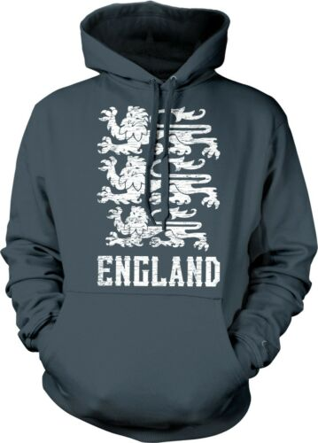 Royal Arms of England English Pride Banner of the Royal Arms Hoodie Pullover