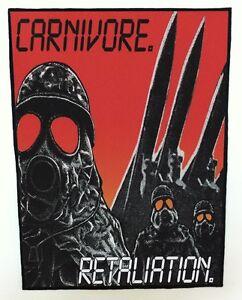 CARNIVORE-BACKPATCH-SPEED-THRASH-BLACK-DEATH-METAL