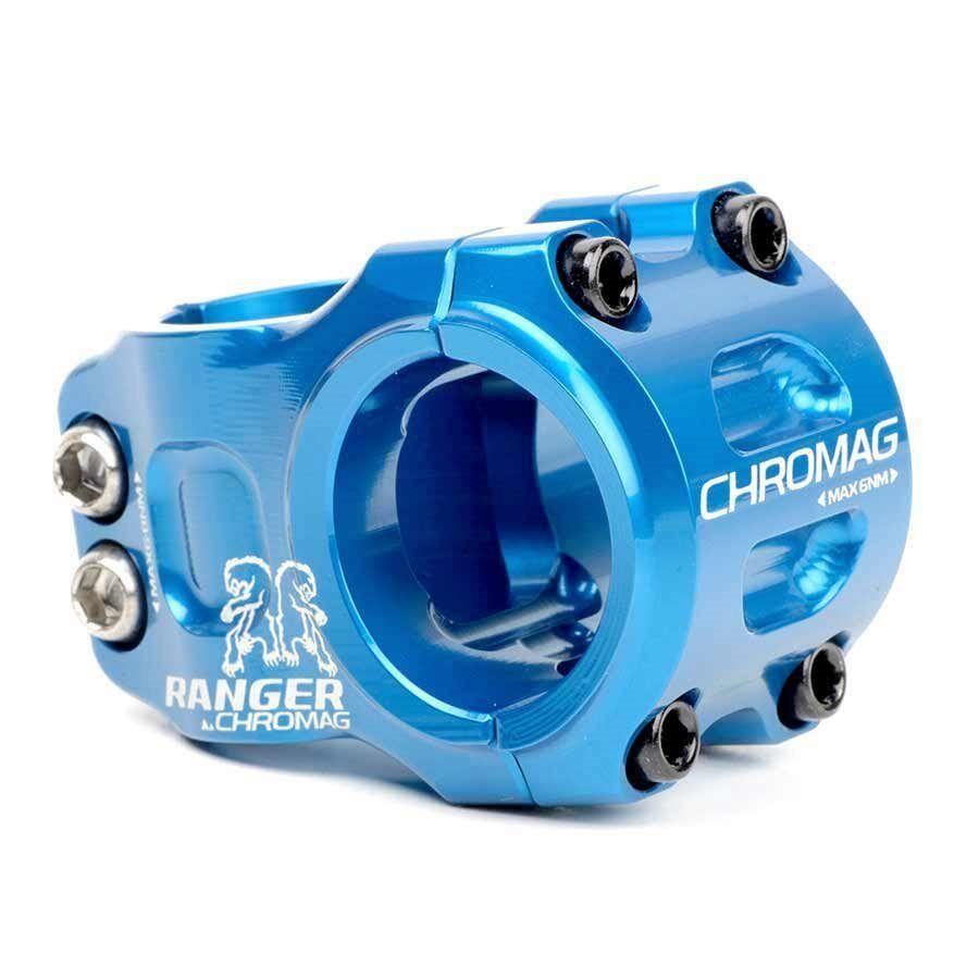 Chromag Förster Förster Förster V2 Vorbau 1-1 8'' L 31mm 0 Durchmesser  31.8mm Blau 150b75