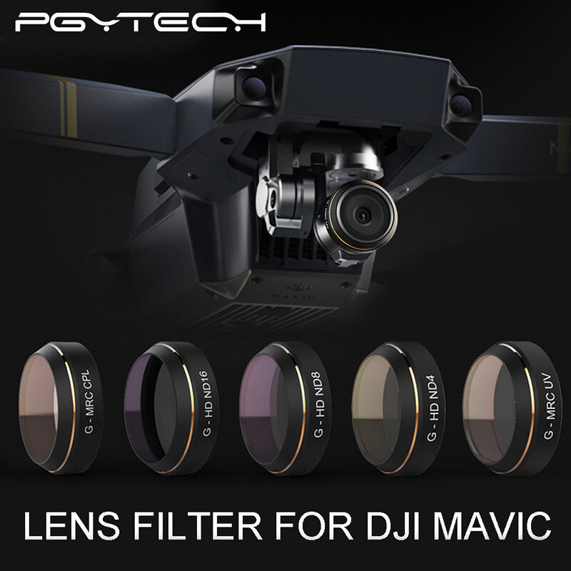 Accessories 5xND4 ND8 ND16 UV CPL Filter Lens for DJI MAVIC Pro Drone Quadcopter