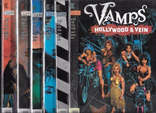 VAMPIRE BABES NM- VAMPS HOLLYWOOD /& VEIN #1-#6 SET DC VERTIGO