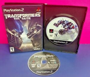 Transformers 1 + Revenge of Fallen - PS2 Playstation 2 Tested Game Lot Autobots
