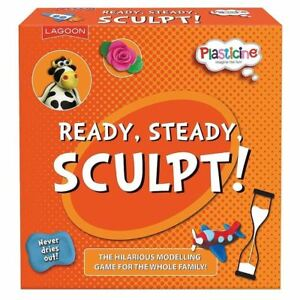 Plasticine Beano Sculpturades modelling charades game