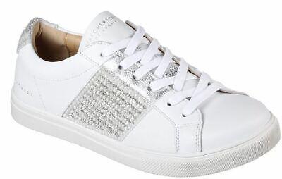 Skechers Moda Bling Bandit Damen Schuhe Sneaker 73493 (WeissSilber WSL) | eBay
