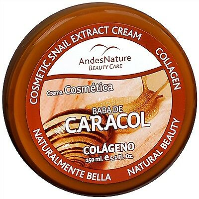 Andes Nature Cosmetic Snail Extract Cream, 5.12 Fluid Ounces