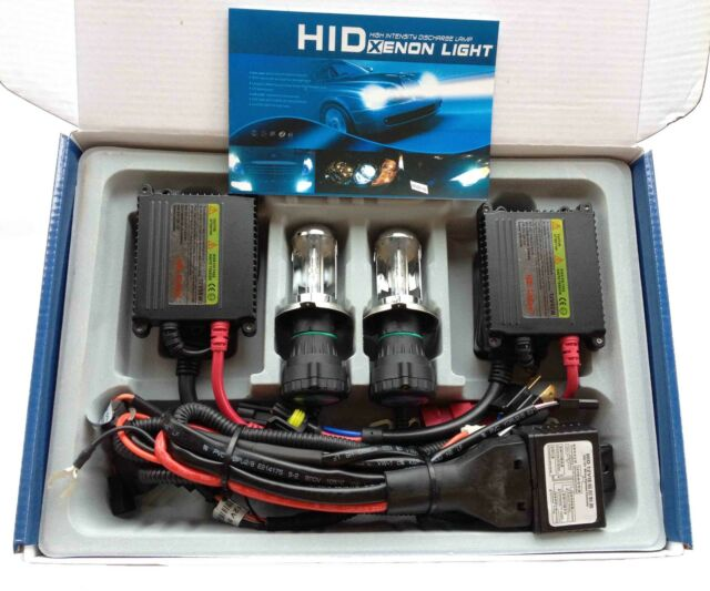 AC 55W H4 Bi-Xenon Hi/Low Beam Xenon HID Conversion Slim Kit 1 Year Warranty