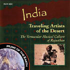 India: Traveling Artists of the Desert by Various Artists (CD, May-1997, Multi Cultural Media)