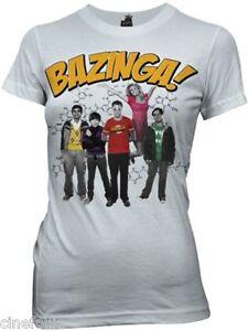 f497e4c0 T-shirt Big Bang Theory Bazinga group women's sweater official tv ...
